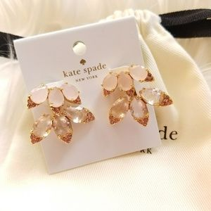 Michael Kors Blushing Blooms Ear Cuff Earrings